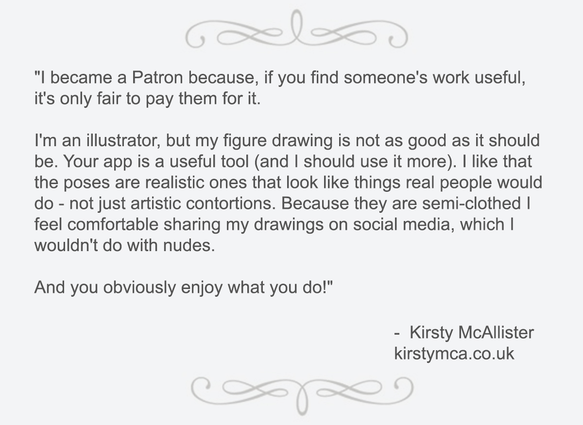 SenshiStock is creating Drawing References | Patreon